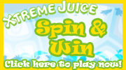Play Xtreme Juice's All New Roulette Game with more chances to win more prizes!